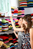 Girls out shopping Royalty Free Stock Photo