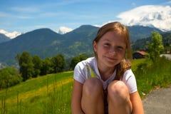 Girls outdoors Royalty Free Stock Photos