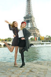 Girls In Paris Royalty Free Stock Photography