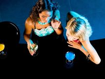 Girls at party Royalty Free Stock Images