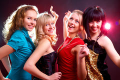 Girls party Stock Photo