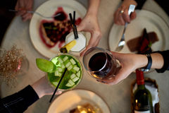 Free Girls Party In Cafe Stock Image - 91552711