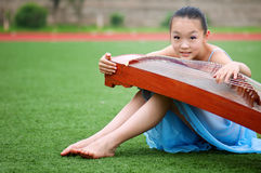 Girls playing Stock Images