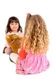 Girls playing Stock Image