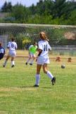 Girls Playing soccer Royalty Free Stock Image