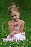 Girls' portrait Stock Images