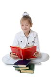 Girls read book Royalty Free Stock Images