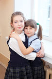 Girls in the school Royalty Free Stock Photos