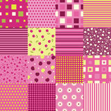 Girls Seamless Backgrounds Royalty Free Stock Photography