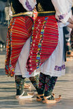 Girls from Serbia in traditional specific costumes 1 Royalty Free Stock Photo
