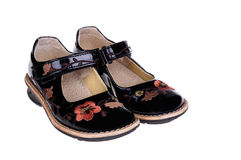 Girls shoes Royalty Free Stock Photos