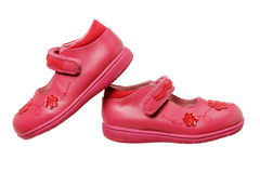 Girls Shoes Stock Photography