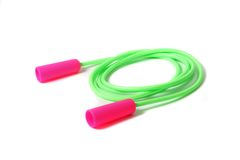 Girls' skipping rope Royalty Free Stock Photography