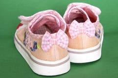Girls sneakers Stock Photo