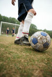 Girls soccer or football Stock Image