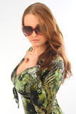 Girls in sunglasses Stock Photography