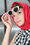 Girls in sunglasses Royalty Free Stock Image