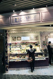 Girls talk shop in hong kong Royalty Free Stock Photography