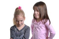 Girls Teasing Royalty Free Stock Image
