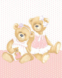 Girls Teddy Bear Royalty Free Stock Photo
