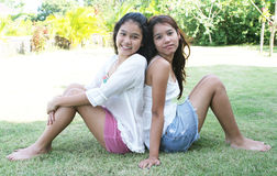 Girls from Thailand Stock Images