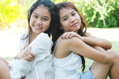 Girls from Thailand Royalty Free Stock Photo