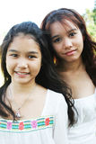 Girls from Thailand Royalty Free Stock Photos