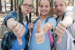 Girls Thumbs Stock Photos