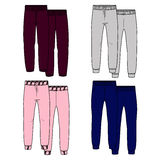 Girls trousers. Color Royalty Free Stock Photography