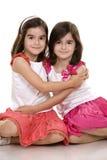 Girls twins Stock Image