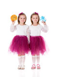 Girls twins Royalty Free Stock Photos