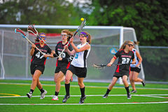 Girls Varsity Lacrosse Semi Fianls Stock Photo