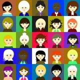25 girls Vector 3 3. 25 girls Vector 3 Vector 3 Stock Photos