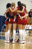 Girls volleyball team Royalty Free Stock Images