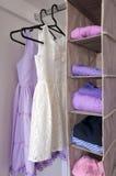 Girls Wardrobe royalty free stock photos