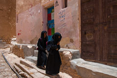 Girls in Yemen Stock Image