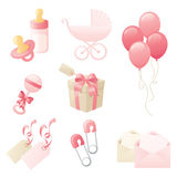 Girly Baby Collection Royalty Free Stock Photos