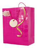 Girly Gift Carrier Bag Royalty Free Stock Photography