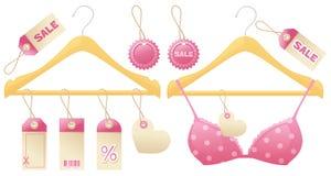 Girly Hangers Stock Photos