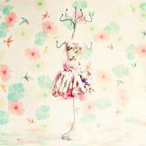 Girly Jewel hanger Royalty Free Stock Image