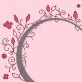 Girly marco lindo ilustración del vector