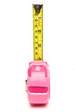 Girly measure Stock Image