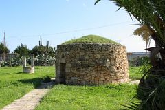 Girna przy Stanta Lucia Malta fotografia stock