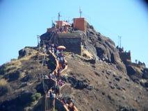 Girnar berg Fotografering för Bildbyråer