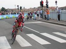 giro Италия bmc d участвуя в гонке команда Стоковое Изображение RF