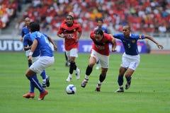 Giro 2009 di Manchester United Asia immagini stock libere da diritti