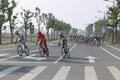 giro 2011 della corsa di bicicletta del lago Taihu Immagine Stock Libera da Diritti