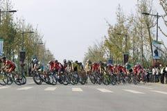 giro 2011 della corsa di bicicletta del lago Taihu Fotografia Stock Libera da Diritti