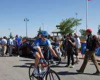Giro 2012 di Amgen della California Jacob Rathe Immagini Stock Libere da Diritti