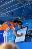 Giro 2012 di Amgen della diga di Laurens dieci della California   Fotografie Stock